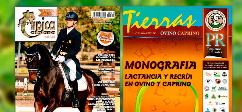 "Grupo Diarte appears in the ""Hípica Catalana"" & ""Tierras"" magazines"